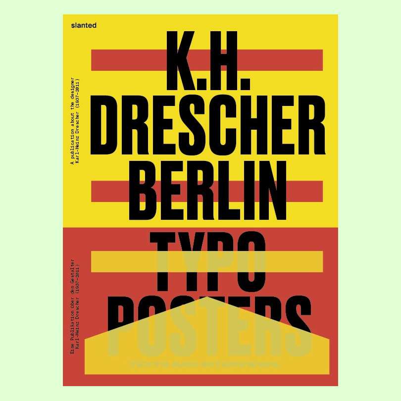 Berlin Typo Posters, Texts, and Interviews