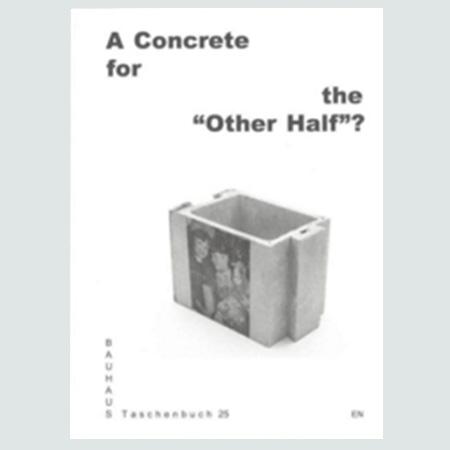 Taschenbuch 25 -  A Concrete for the