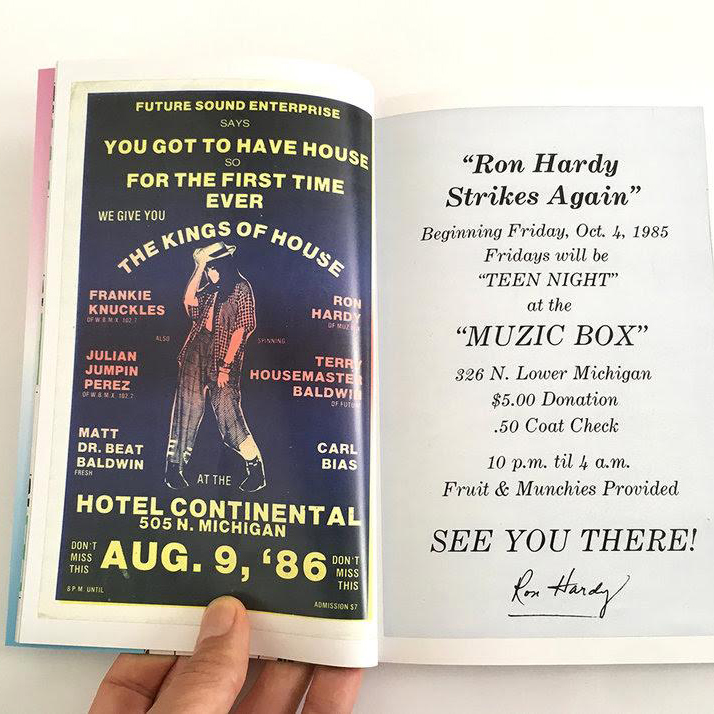 Beyond Heaven - Chicago House Party Flyers From 1983 - 1989