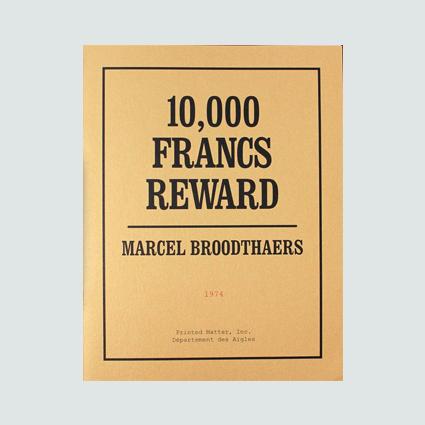 10,000 FRANCS REWARD