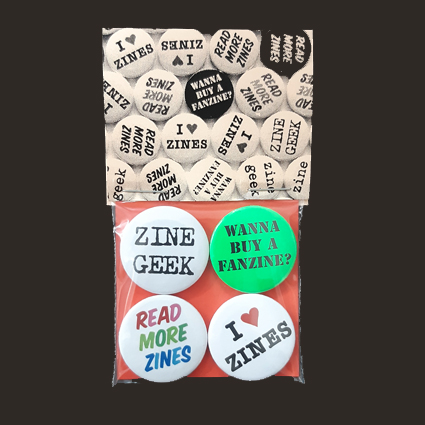 Zines / Fanzines Badges