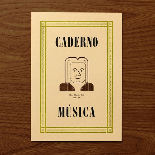 Caderno Música Bach