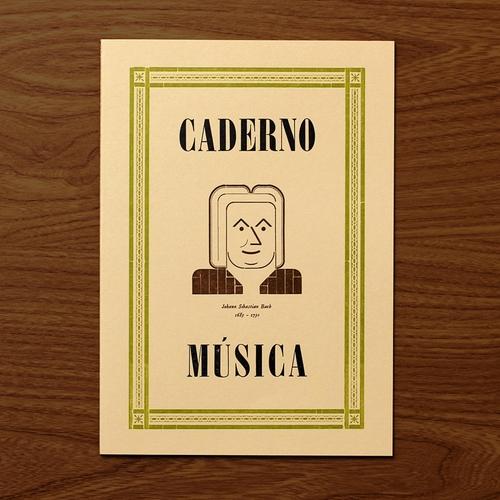 Caderno M�sica Bach
