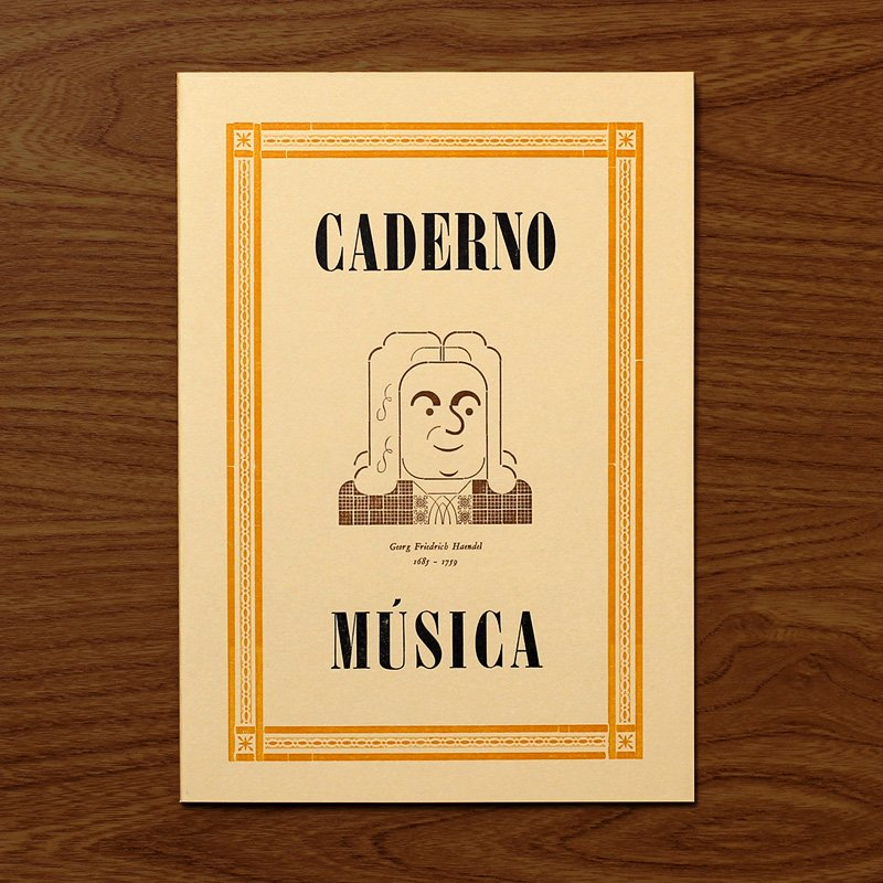 Caderno Música Haendel
