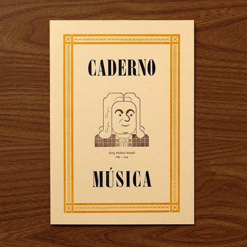 Caderno M�sica Haendel