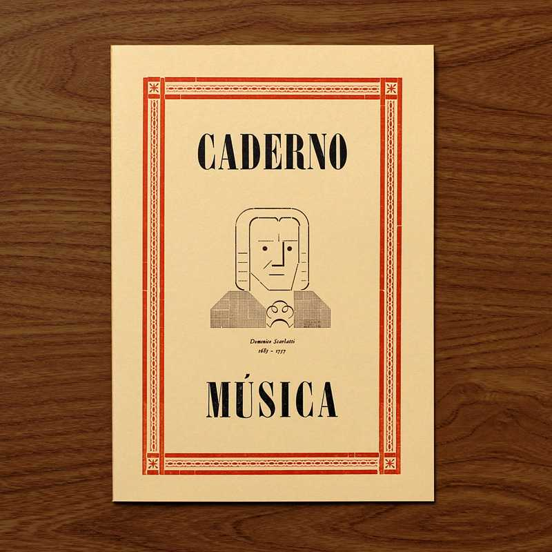 Caderno Música Scarlatti