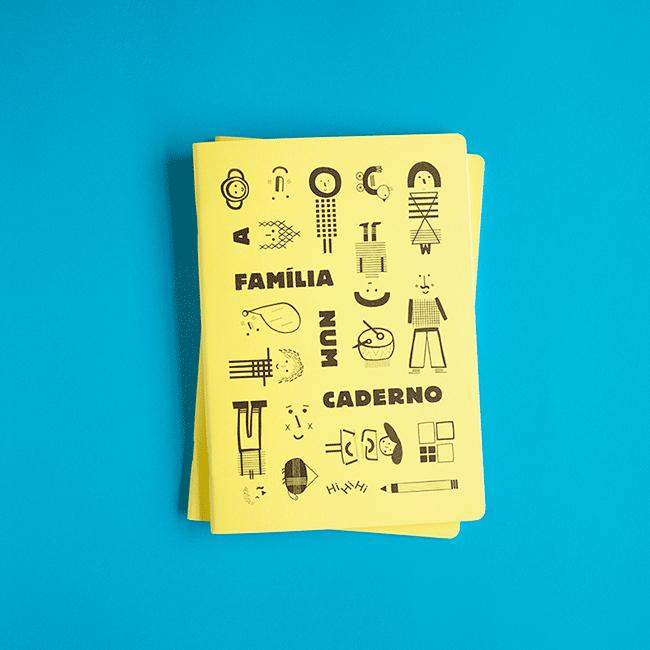 A Família Num Caderno