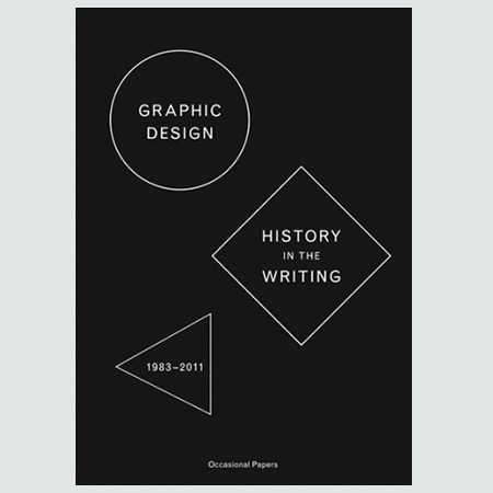 Graphic Design: History in the Writting