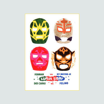 Mexican Wrestling Masks