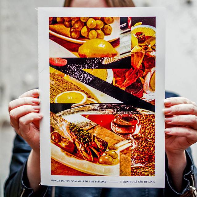 Nunca Jantes Com Mais De Seis Pessoas - E Quatro Já São De Mais