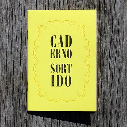 Caderno Sortido Amarelo