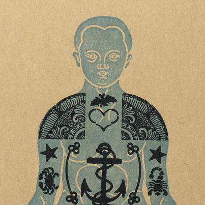 Caderno Tatuagem