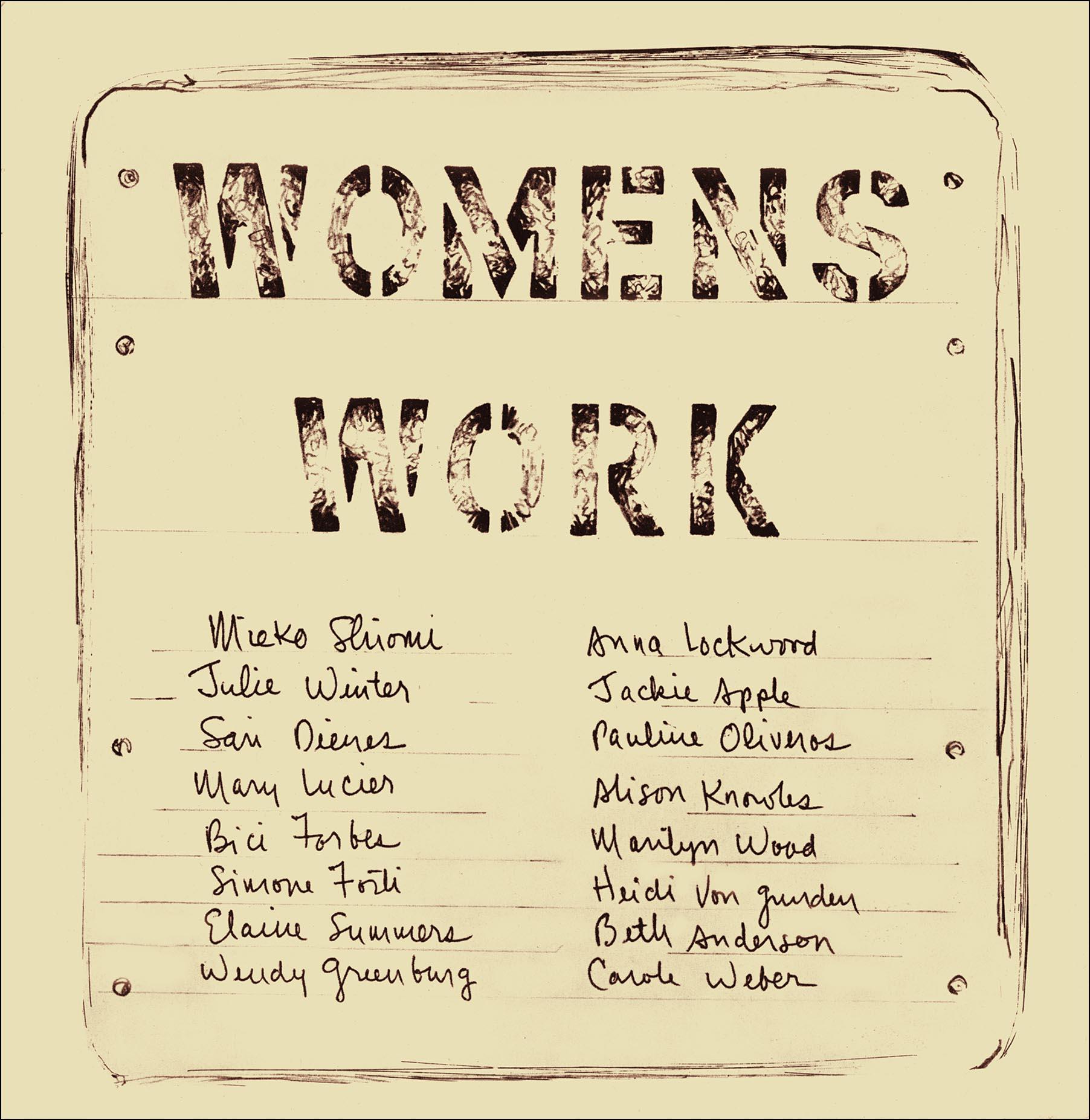 Womens Work